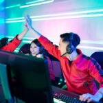 pro cyber sport gamers team